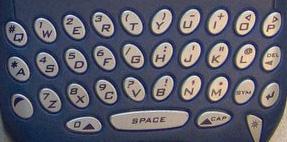 Black-Berry keyboard